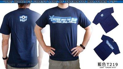 【ARMYGO】美國 7.62 軍事T恤 - 空軍系列 -USAF 'CROSS INTO'