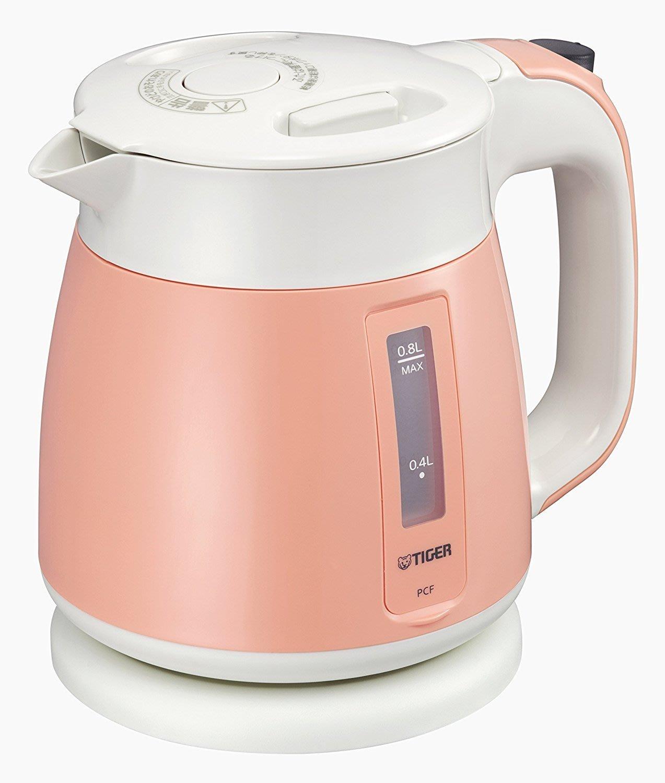 【天翼~日の良品代購】日本Tiger虎牌 電熱水壺 熱水瓶 0.8L 保溫/防倒流設計