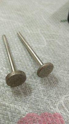 鑽石磨棒  寬版12型2支組    柄3.1mm