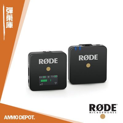 【AMMO DEPOT.】 RODE WIRELESS GO 微型無線麥克風 RD-WGOK