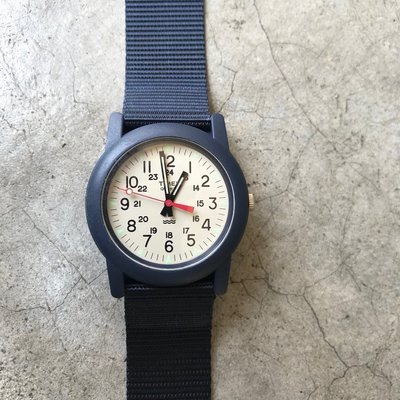 【 WEARCOME 】TIMEX CAMPER WATCH NATO 軍錶 帆布錶帶/藍、黑、綠