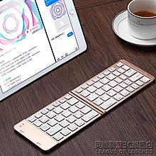 可折疊藍芽鍵盤無線通用便攜式手機ipad平板迷你小鍵盤-多色小屋