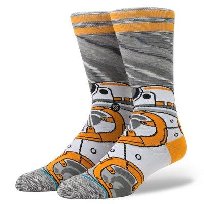 ☆【襪子館】☆【STANCE STAR WARS 星際大戰BB-8中筒襪】☆【STD003A6】☆(L)12/10到貨