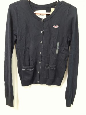 ㄚ貓的店~全新 Hollister 深藍色外套(L號)~出清特價$1380含運