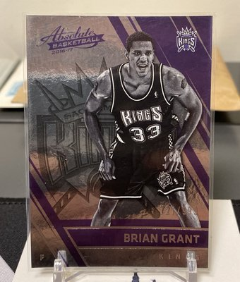 Brian Grant 16/17 Absolute #154 Retired 727/999