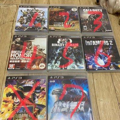 PS3 二手美品遊戲光碟片