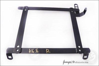 ☆光速改裝精品☆MAZDA323/TIERRA 專用賽車椅腳架~單支1000元.