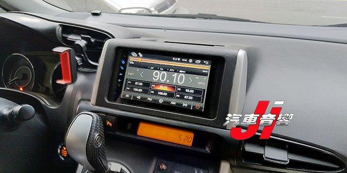 **Ji汽車音響** WISH TOYOTA 9.0版本 7吋 安卓機 內建正版導航 台灣製造一千萬責任險