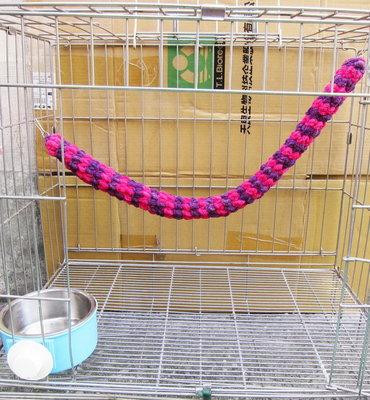 【皮蛋媽的私房貨】MOU1014TEA松鼠毛線編織攀爬繩 手作MIT蜜袋鼯松鼠編織玩具 懸掛掛掛籠