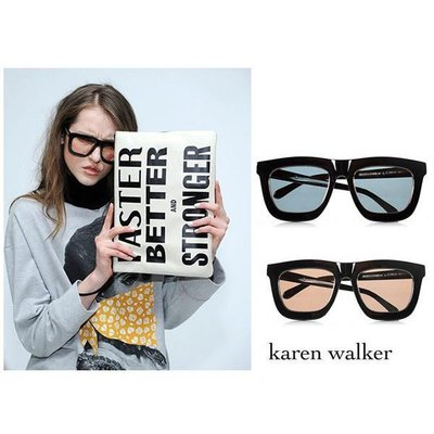 Karen Walker►Deep Worship金屬內邊圈×限量色 太陽眼鏡 墨鏡100%全新正品特價  TOMF