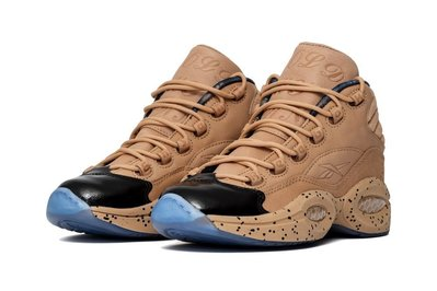 =CodE= REEBOK QUESTION MID X MELODY EHSANI 皮革籃球鞋(卡其)BD4327預購