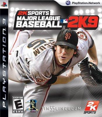 【二手遊戲】PS3 職棒大聯盟 2K9 棒球 英文版【台中恐龍電玩】