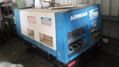 日本AIRMAN 175 柴油引擎螺旋式空壓機