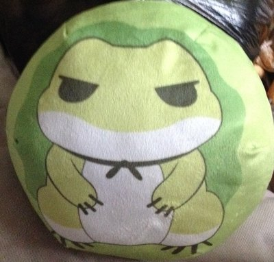 全新旅蛙抱枕