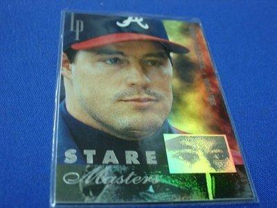 阿克漫393-10~MLB-1996年Leaf Preferred限量2500張特卡Greg Maddux只有一張