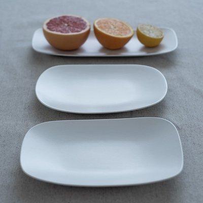 珠寶首飾正品~日本進口yumiko iihoshi rectangle系列陶瓷餐盤禪意簡約長方