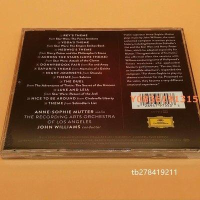 爆款CD.唱片~穆特/Mutter 約翰·威廉姆斯 穿越星際 電影配樂 CD