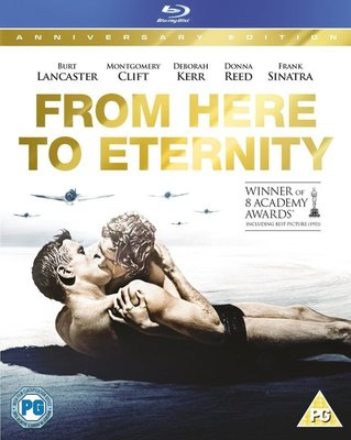 【BD藍光】亂世忠魂:外紙盒限定板From Here to Eternity(台灣繁中字幕)