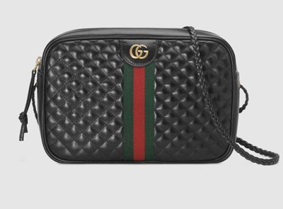 **Ohya精品代購** 2018 全新代購 Gucci 古馳Quilted leather small bag 541051