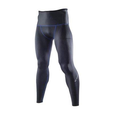MIZUNO美津濃 新發售 BG9000 男 緊身褲 壓力褲 兩面穿 全長 K2MJ5B0292黑藍