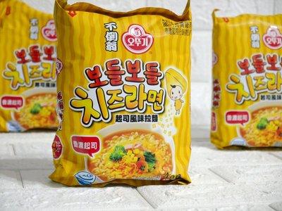 【EV story】不倒翁 起司風味拉麵 韓國  OTTOGI  韓國不倒翁起司風味拉麵