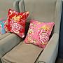 C05 客家復古粉抱枕  45x45cm系列 (含枕心)