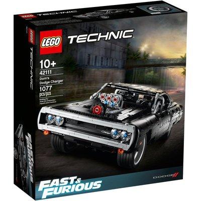 【樂GO】LEGO 樂高 TECHNIC 科技 42111 Tech-Dom's Dodge Charger 原廠正版