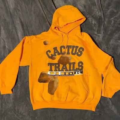 香港免稅台現貨 Travis Scott Cactus Trails Bolder Varsity Hoodie周邊帽衫衛衣