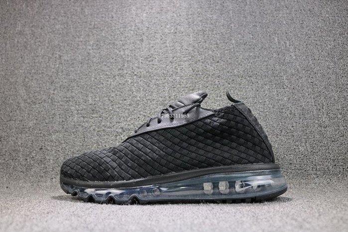 NIKE AIR MAX WOVEN BOOT 全黑 百搭 氣墊 編織 慢跑鞋 男鞋 921854-002