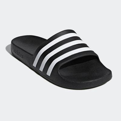 ADIDAS ADILETTE AQUA  拖鞋 運動拖鞋 便鞋 黑 F35543 21SS【樂買網】