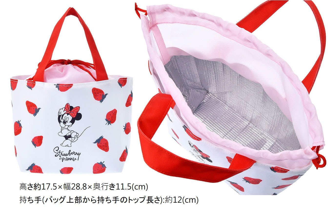 20-0105-15-全球迪士尼樂園-Ichigo Lifestyle草莓米妮-便當袋-限直送