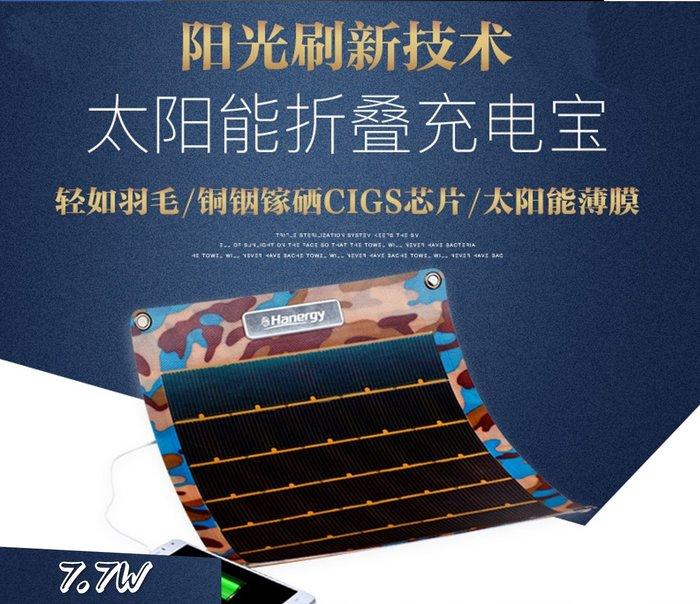 【Sun】卡門 太陽能摺疊面板7.7W ETFE一體層壓高效太陽能折疊包 戶外應急快速充電 穩壓5V