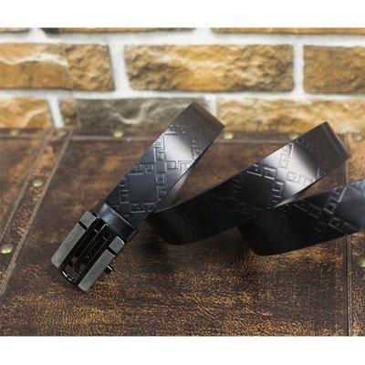 『老兵牛仔』LB-3296自動扣窄版牛皮皮帶/頭層牛皮/復古/彈力/耐拉/個性