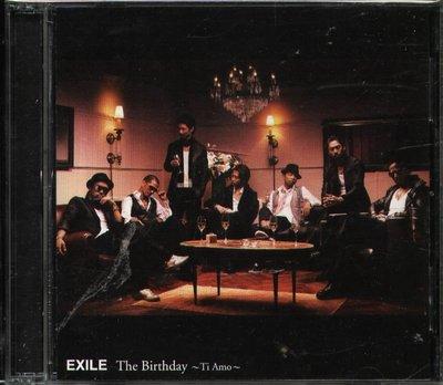 K - EXILE 放浪兄弟 - The Birthday Ti Amo - 日版 CD+DVD