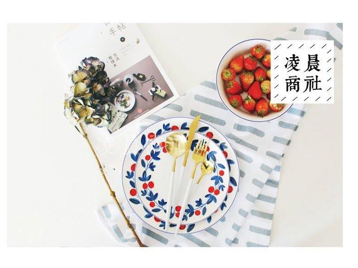 凌晨商社 //zakka日本francfranc同款 櫻桃 醬果餐盤 瓷盤 拍攝道具  大盤下標區