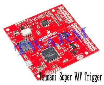 《德源科技》r) SparkFun原廠 Tsunami Super WAV Trigger (WIG-13810)
