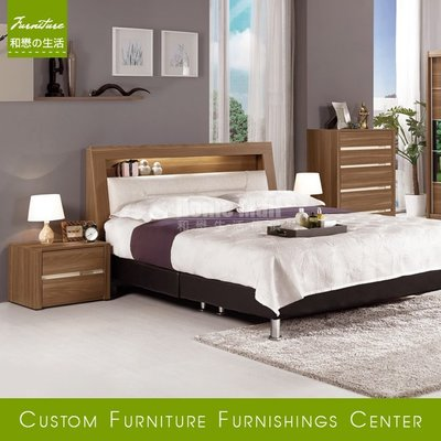 HOME MALL和懋傢俱~維爾達雙人5尺床箱式床架 $12500~(雙北市1-4F免運費)8C(歡迎來電詢問)