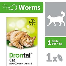 寵物保健 Drontal Cat Worming Tablet寵物杜蟲丸 (貓用)