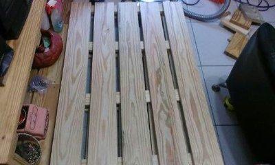 美國南方松木地板.長180cm.寬80cm.高5cm.可接受定製