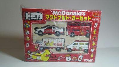 Tomy Tomica McDonald's Boxset