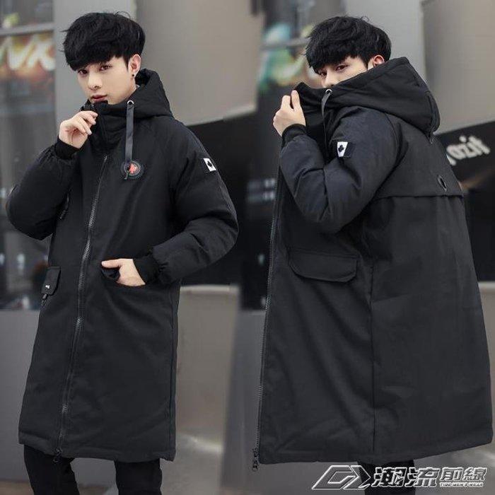 新款棉衣男冬季中長款加厚外套潮流韓版大碼羽絨棉襖冬天棉服igo