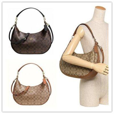 (Outlet特惠)COACH 38267 新款女士半月包 斜跨包 肩背手提包 附購買證明