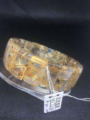 鈦晶手排 招財 重73.4克 寬20咪 手圍20 A06