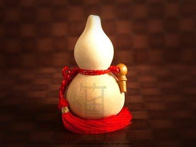 竹香坊【素面開口葫蘆】天然種植葫蘆、招財納福保平安、開運風水(小 約 9-12CM)