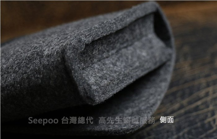 【Seepoo總代】2免運收納包 Nokia 6.2  7.2  6.3吋羊毛氈套 多功能袋手機殼 手機袋 保護套 黑灰