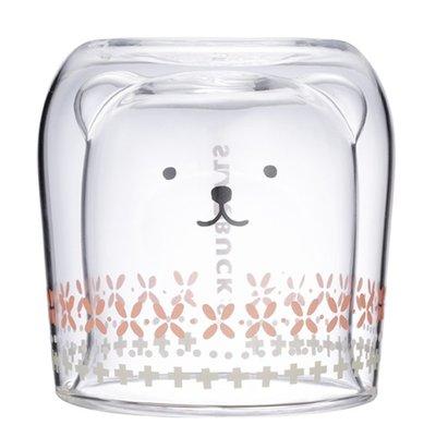 2019星巴克聖誕派對限定商品-北極熊雙層玻璃杯