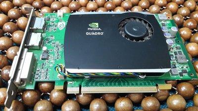 二手良品 NVIDIA Quadro FX 580 512MB 專業繪圖顯示卡