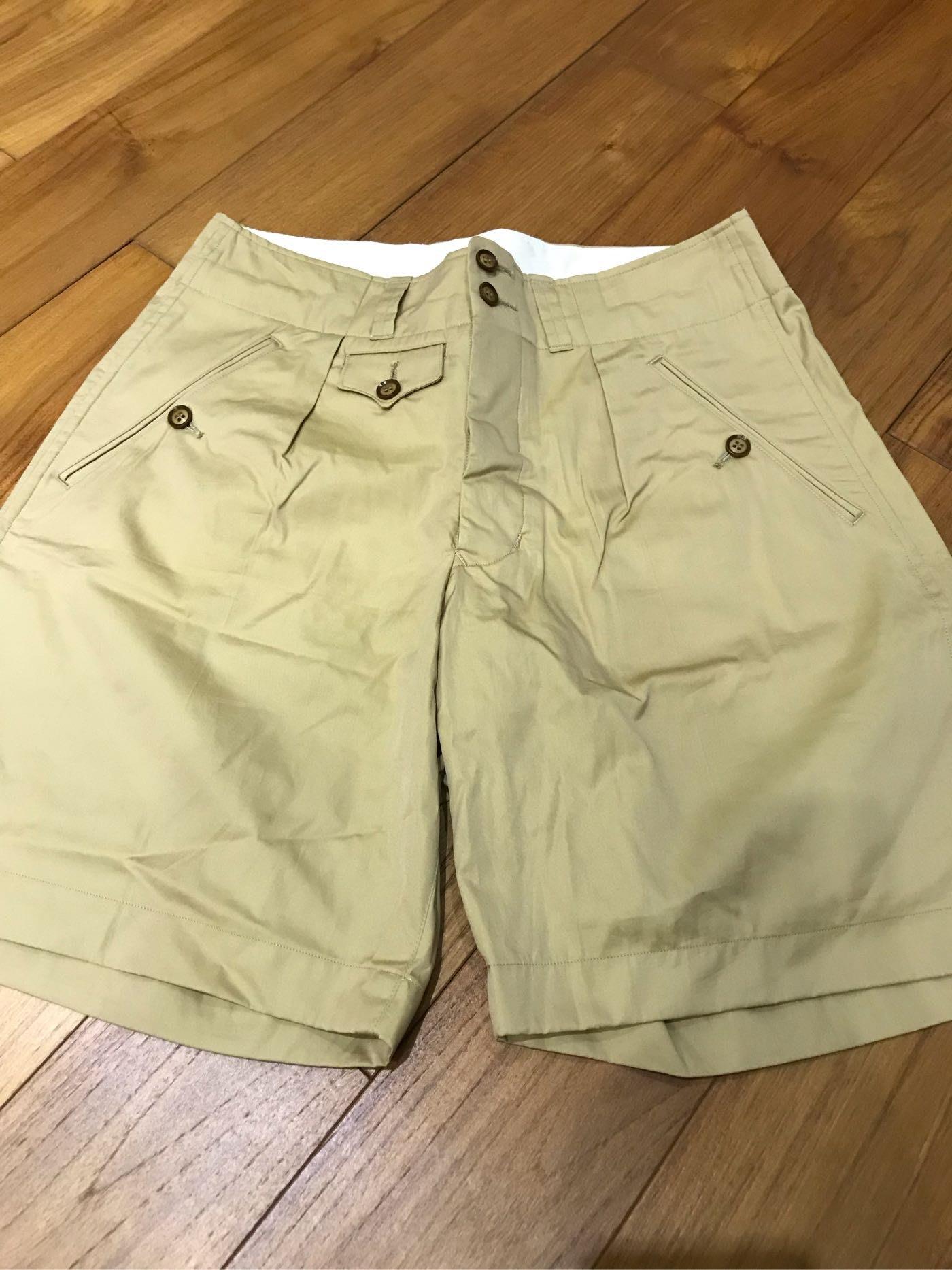 Haversack Khaki Bermuda shorts 卡其色 百慕達短褲 日本製 Nigel mister freedom