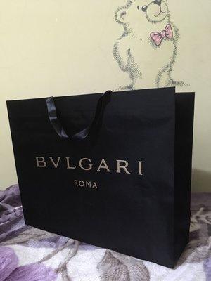 寶格麗緞面包裝提袋BVLGARI