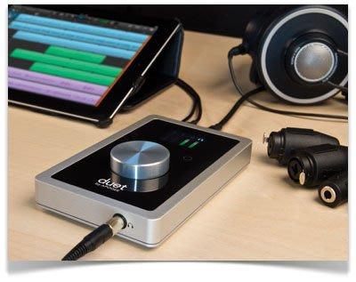 【搖滾鍵盤】總代理保固 Apogee Duet iOS MAC、iPad、iPhone 用USB錄音介面*錄音室音質/新DUET 2
